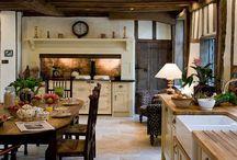Landlig kjøkken