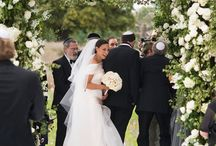 Chuppah Ceremony Flowers / Inspiration for wedding ceremony Chuppah flowers. Full of glorious flowers for traditional Chuppah's and modern Chuppah's.