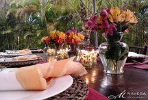 Mesas e jantares