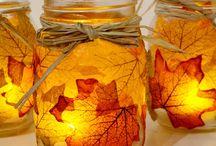 Dekorációk őszre