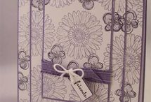 Flower Stamps I have / by Elizabeth Challenor-Reese