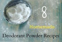 home made talcum powder