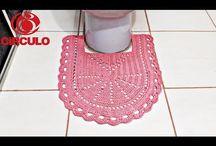 Jogo de Banheiro - crochê