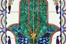 Hamsa - hand of Fatima