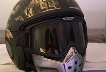 Motor Helmet! Mich + Lin