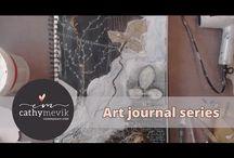 A mixed media art journal experience.