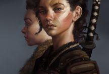 fantasy portraits