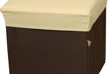 BOX STOOL Beige / BLC377BE