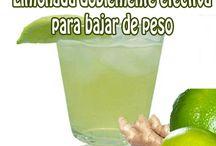 Limonada para bajar de peso / Bajar de