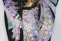Kimonos and Japanese things / Exquisite kimonos and things I love about Japan / by Catherine Tripp