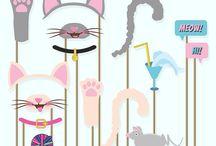 cumpleaños gatitos