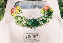 AUTO- kwiatowe aranżacje