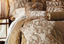 """Dian Austin Couture Home / Park Avenue sophisticated elegance created by designer Dian Austin whose trademark """"haute couture"""" detailed bedding collections are made from the  finest fabrics sourced worldwide with emphasis on premiere European weavers.  Each piece is painstakingly handcrafted by artisans in their California factory."""