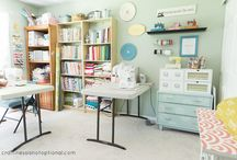 Sewing Room Options / Creating a sewing room and I need some IDEAS.