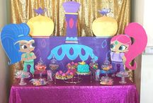 party shimmer and shine