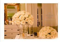 Elegant Wedding in Santorini / White Wedding @ La Maltese Estate in Santorini