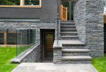 Houston - Knight Residence / Showhome featuring Pangaea Stacked Stone