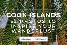 Cook Islands Travel Inspiration / Inspiration for your Cook Islands trip