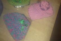 Monederos de crochet / Monederos