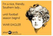 War Damn Eagle!~! / by Beth Storey