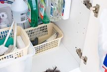 De-clutter & Organize - Cool Hacks / by Janet Campbell