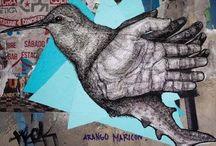 wall paint-graffiti-stencils