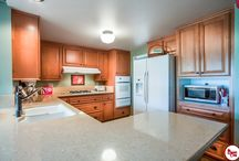 Placentia - Cabinetry Refacing / Our exclusive DURAMAX Refacing™ service transformed this kitchen into a brand new space.