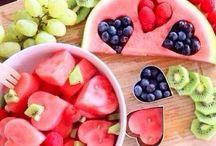 meloun / Carving a netradiční servírování