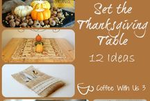Thanksgiving / Thanksgiving crafts, recipes, tradition ideas, decorations, activities, etc.