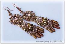 Beads earrings / by Lori Phillips