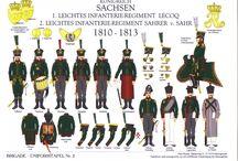 Military ,Brigade Uniformtafeln. / complete except no 304.