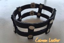 Leather wristbands ( Περικάρπια Δερμάτινα ) / Leather