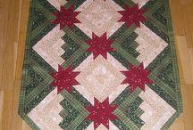 patchworkové Vianoce