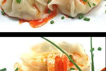 Light and airy shrimp dumplings