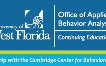 Continuing Education / Our Online CE offerings in partnership with the Cambridge Center for Behavioral Studies ™  / by UWF Office of Applied Behavior Analysis