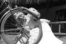Pictures of bicycles from the Ethnological Archives / by Museum of Ethnography Budapest