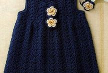 baby's crochet dress