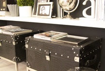 Decorating and storage ideas / by Melissa Brown