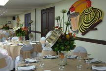 Fiesta tematica colombiana