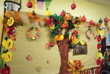 Bulletin board crafts / Elementary school crafts