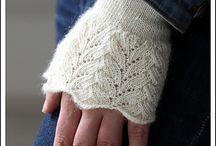 Knitting - Mittens - socks - strikkevotter-sokker / Strikkeoppskrifter votter, sokker og tøfler