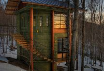 Cool tree houses!!! / Amazing pictures of awesome tree houses!!!! Who wouldn't want one???? / by David Tesch