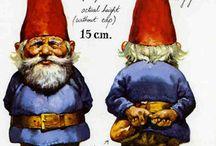 Gnomes, nisse, tomte / Magic gnomes:)