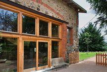 Nos rénovations de granges / Découvrez nos plus belles réalisations de rénovation de grange sur notre site Camif Habitat !