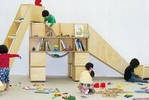 Big + Little Kids Playrooms (aka basement) / Ideas and inspiration on how to create the most magical (but functionable) playroom / by Nevette Previd