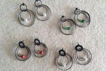 """Irregular Circles"" Collection / Jewels I created between Girona and Formentera."