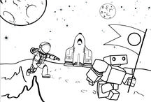 Illustrations for you to colour in / Download and colour in some of our teddybots illustrations for your children to colour in