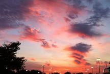 Sky, sunset, sunrise