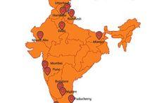 Indian Ashrams / Ashrams in India to get the serene & peaceful life. In India there are various ashrams are present like in Rishikesh, Haridwar, Varanasi, Mumbai, Pune, Chennai etc. In these ashrams yoga retreats, meditation retreats, vedic studies etc activities carried out.