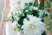 Wedding in white&green